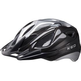 KED Tronus Helmet black silver